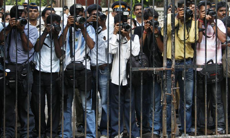 The International Press Institute and the International Federation of Journalists have expressed grave concern over the increasing use of sedition charges against journalists in India. — Reuters/File