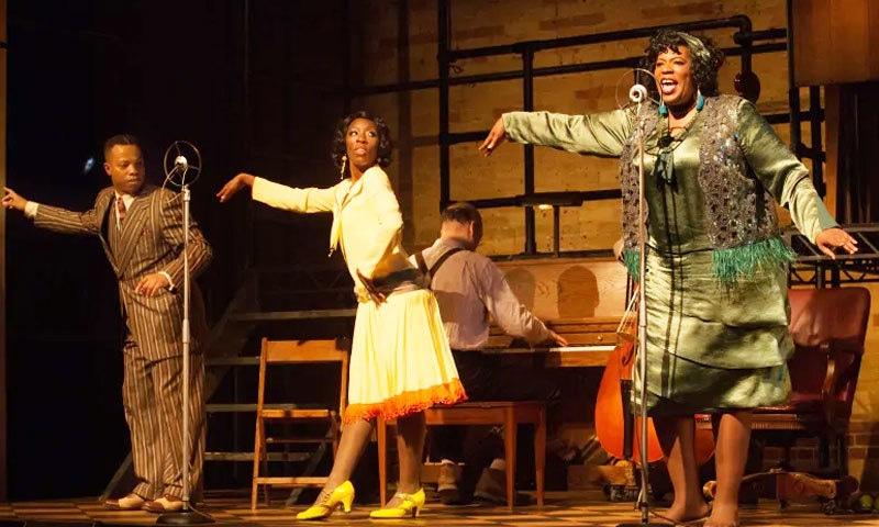 فلم میں سیاہ فام موسیقاروں کو استحصال کا نشانہ بنتے ہوئے دکھایا گیا ہے—اسکرین شاٹ