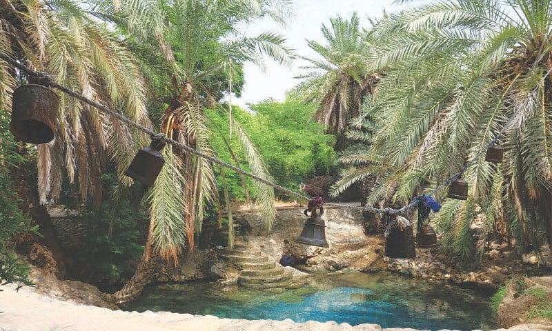 بلوچستان کا یہ مقام ایک بزرگ چھتل شاہ نورانی کے نام سے موسوم ہے