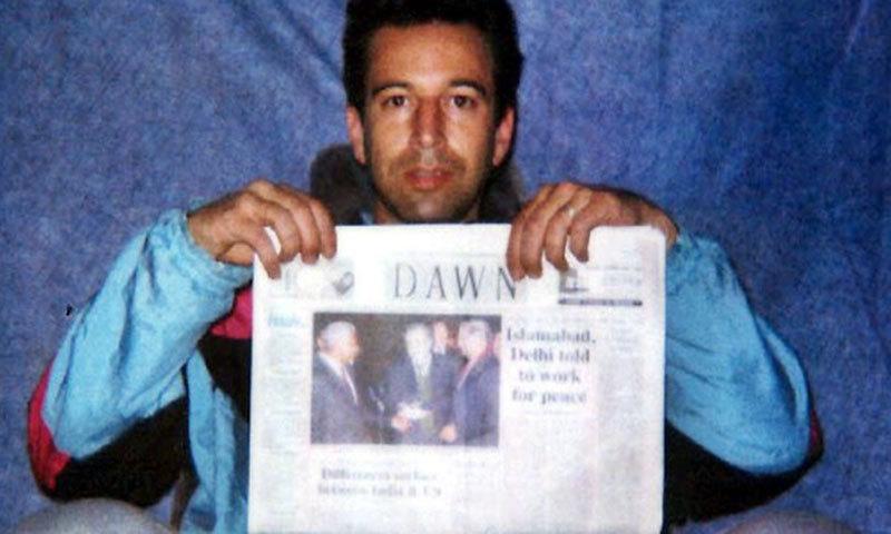 American journalist Daniel Pearl. — Dawn archives