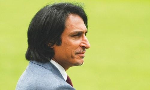 Former Test opener-turned commentator Ramiz Raja. — Reuters/File
