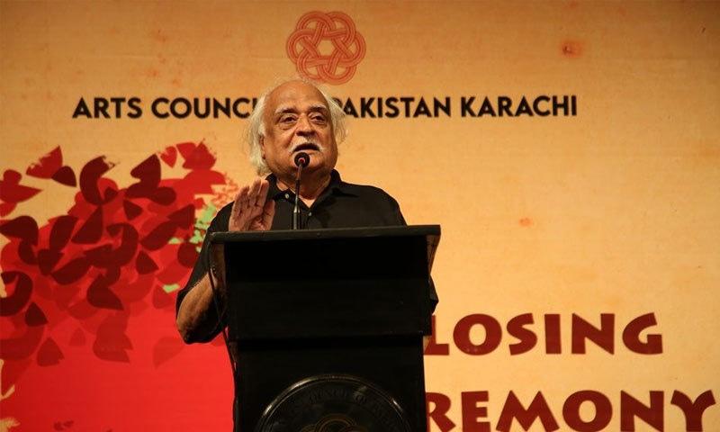 فیسٹیول میں مجموعی طور پر  44 شوز اور 22 پلیز پیش کیے گئے— فوٹو: بشکریہ آرٹس کونسل آف پاکستان کراچی فیس بک پیج