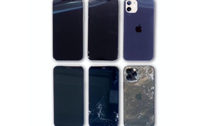 ایپل کے نئے آئی فونز کا ڈسپلے ہاتھ سے گرنے پر کس حد تک مضبوط؟
