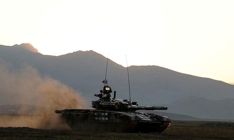 امریکی ثالثی میں جنگ بندی کے باوجود نیگورنو-کاراباخ میں لڑائی جاری