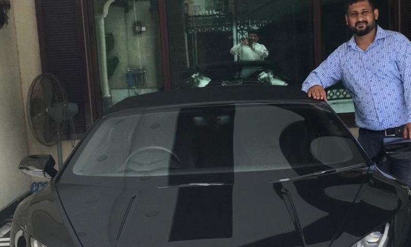 اس سے قبل رجسٹر ہونے مہنگی ترین گاڑی کی مالیت 9 کروڑ 80 لاکھ تھی—فوٹو: انڈیپنڈنٹ اردو