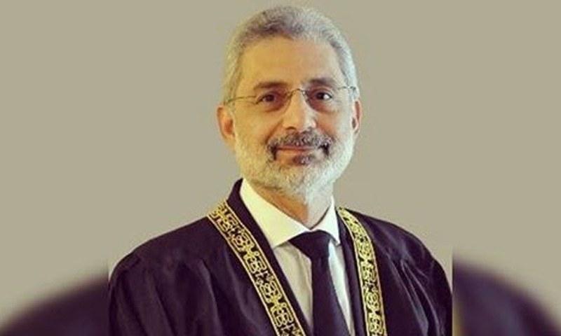 جسٹس قاضی فائر عیسیٰ عدالت عظمیٰ کے سینئر جج ہیں—فائل فوٹو: سپریم کورٹ ویب سائٹ