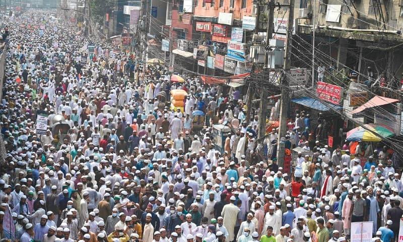 بنگلہ دیش: گستاخانہ خاکوں، فرانسیسی صدر کے خلاف ریلی، مسلم دنیا میں بھی شدید ردعمل