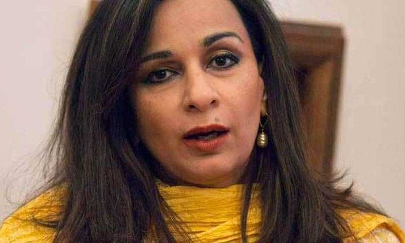 In this file photo, Sherry Rehman speaks during an interview in Islamabad in July 2012. — Reuters