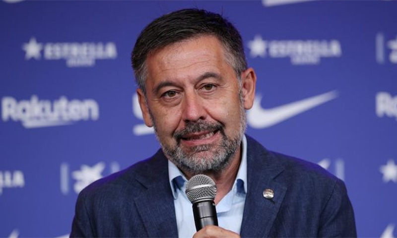 Josep Maria Bartomeu resigned in order to avoid facing a vote of no confidence. — Reuters