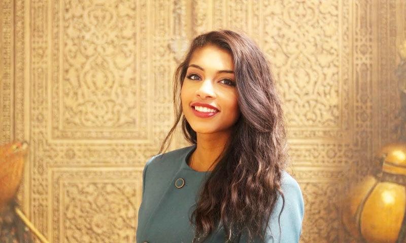 لیلیٰ الحبثی گہری ترین جھیل میں ڈائیونگ کرنے والی پہلی عرب خاتون بن گئیں—فوٹو: مسقط ڈیلی