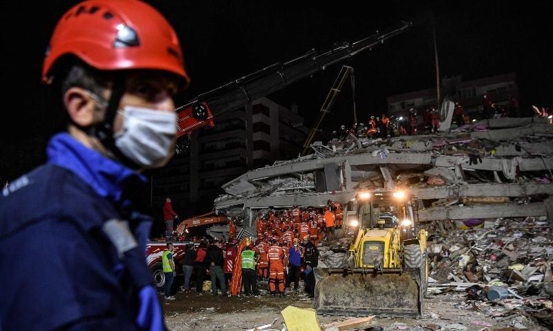 ترکی اور یونان میں زلزلے سے ہلاکتوں کی تعداد 26 ہوگئی