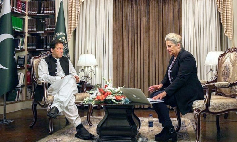 Pakistan wants even-handed treatment from US with respect to India: PM Imran