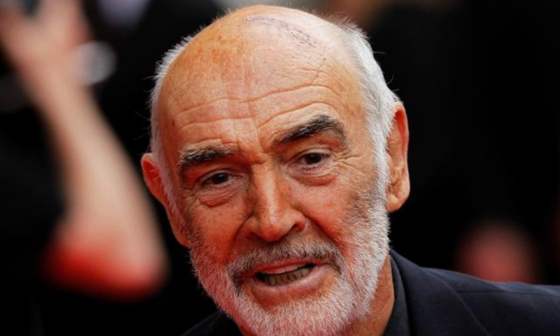 Actor Sean Connery arrives for the Edinburgh International Film Festival opening night showing of the animated movie 'The Illusionist' at the Festival Theatre in Edinburgh, Scotland in June 2020. — Reuters/File