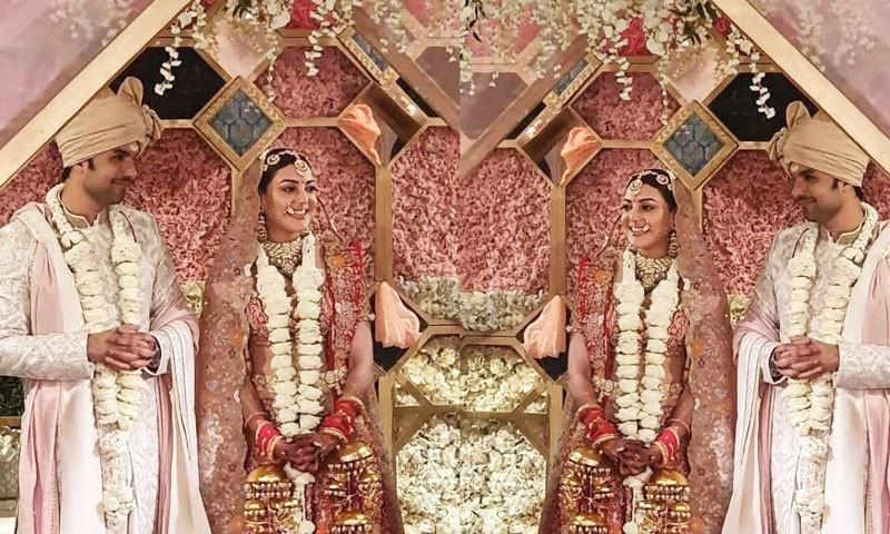 اداکارہ نے صنعت کار گوتم کچلو سے شادی کی—فوٹو: انسٹاگرام