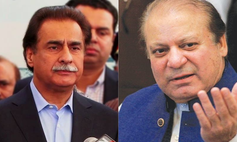 """PML-N leaders of Attock district have distanced themselves from the recent """"anti-state"""" remarks of the party leadership, particularly the stance of former prime minister Nawaz Sharif and former speaker of the National Assembly Ayaz Sadiq. — File photo"""