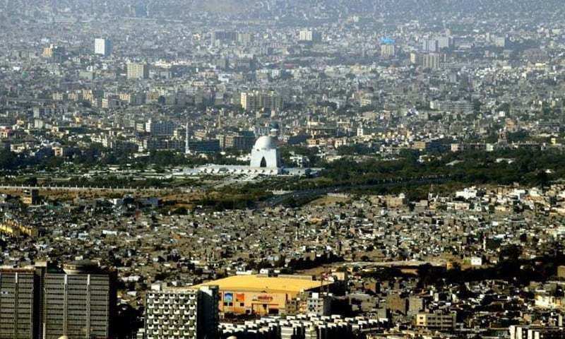 کراچی کا ایک فضائی منظر—فائل فوٹو: فیس بک