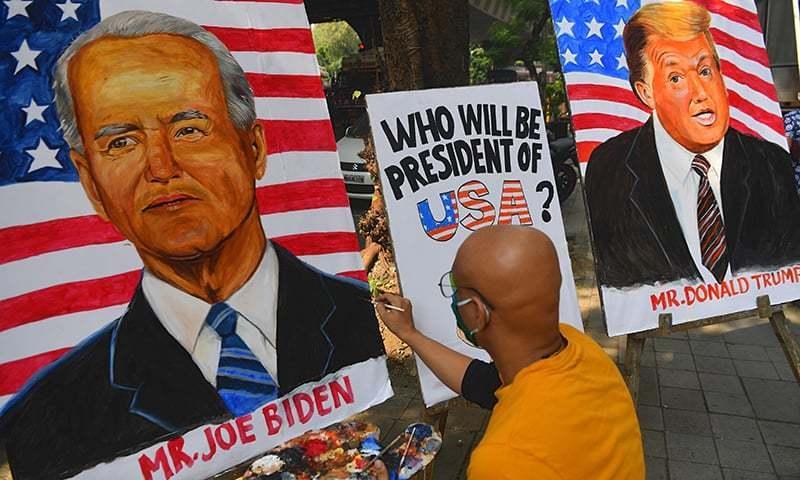 امریکی صدر کے انتخاب کا دن آن پہنچا، ریکارڈ ٹرن آؤٹ متوقع