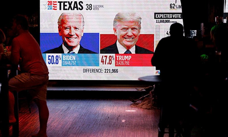 ٹوئٹر و فیس بک نے امریکی انتخابات کی غلط معلومات دینے والے اکاؤنٹس بند کردیے