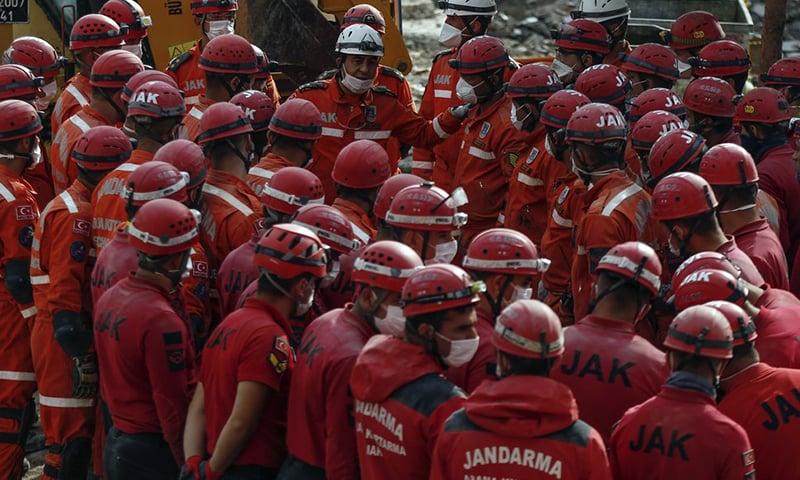 ترکی میں زلزلے سے ہلاکتیں 116 تک پہنچ گئیں، امدادی کارروائیاں مکمل