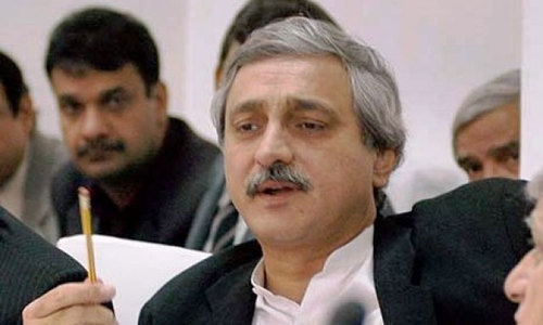 Estranged PTI senior leader Jahangir Tareen returned to the country after five months' absence, sending a positive overture to the government of Prime Minister Imran Khan soon after his arrival here on Friday afternoon. — File photo