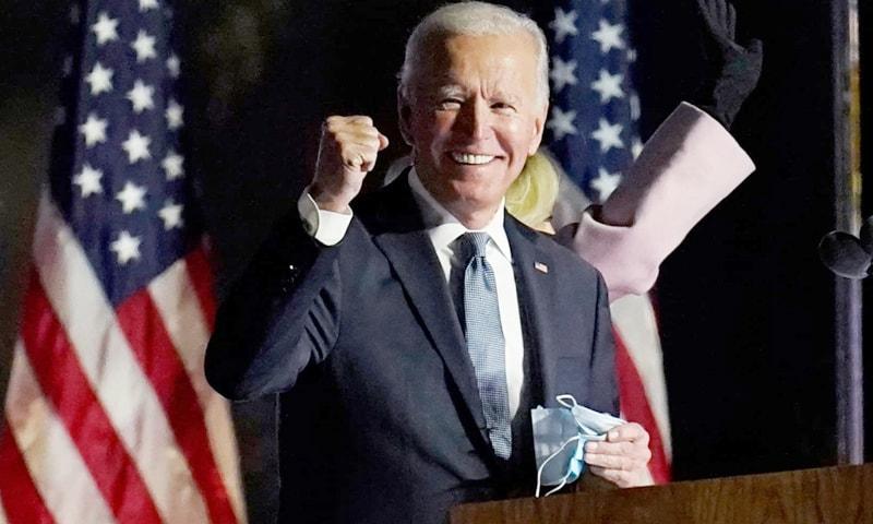 جو بائیڈن امریکا کے سب سے طویل عمر صدر ہوں گے — فوٹو: اے پی