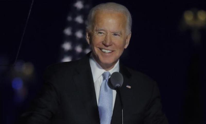 نو منتخب امریکی صدر کا اپنے پہلے خطاب میں اتحاد کو فروغ دینے پر زور