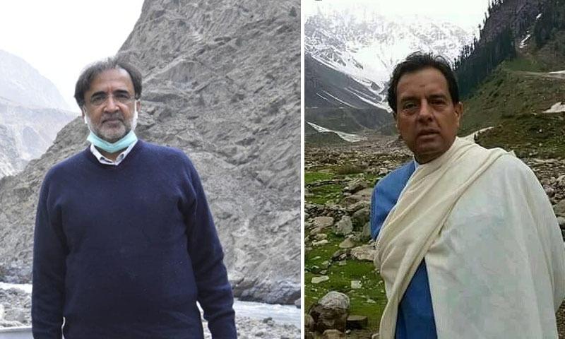 دوناں رہنما انتخابی مہم کے سلسلے میں دیگر رہنماؤں کے ہمراہ گلگت بلتستان میں تھے—تصویر: فیس بک