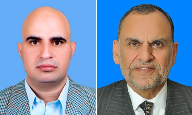 Taj Mohammad Afridi (left) from erstwhile Fata is the richest senator with the total worth of his declared assets coming to Rs1.22 billion — a little over the assets possessed by federal Minister for Narcotics Control Senator Azam Khan Swati. — Photo courtesy Senate website