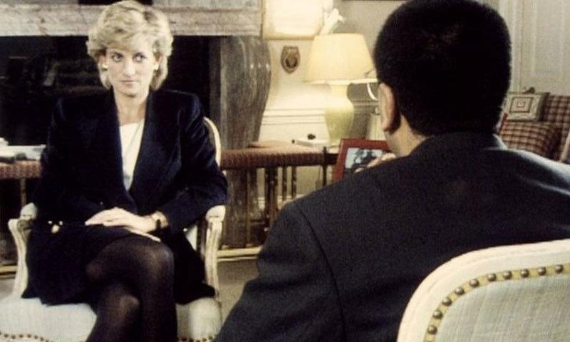 لیڈی ڈیانا کے تاریخی انٹرویو کو نومبر 1995 میں بی بی سی پر نشر کیا گیا تھا—اسکرین شاٹ/بی بی سی ویڈیو