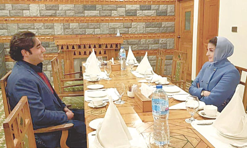 Bilawal, Maryam hold meeting in Gilgit