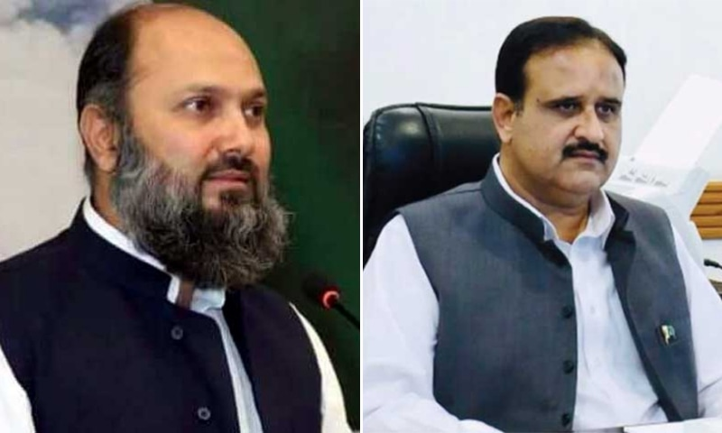 Balochistan Chief Minister Jam Kamal Khan Alyani (left) owns assets valuing more than Rs728.41 million while Punjab Chief Minister Sardar Usman Buzdar owns as many as 10 immovable properties worth Rs35m. — Photos Radio Pakistan/DawnNewsTV
