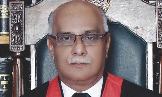 Peshawar High Court (PHC) Chief Justice Waqar Ahmad Seth, 59, passed away on Thursday, days after contracting the coronavirus and being shifted to a private hospital in Islamabad. — APP/ File