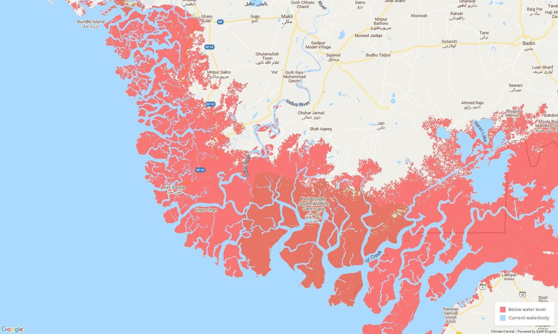 سندھ کا ڈیلٹائی علاقہ