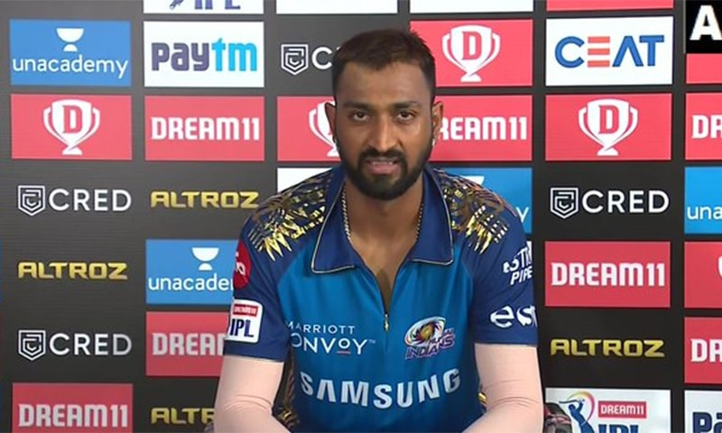 Indian cricketer Krunal Pandya was stopped by airport customs carrying gold and luxury watches, media reports said. — Photo courtesy ANI