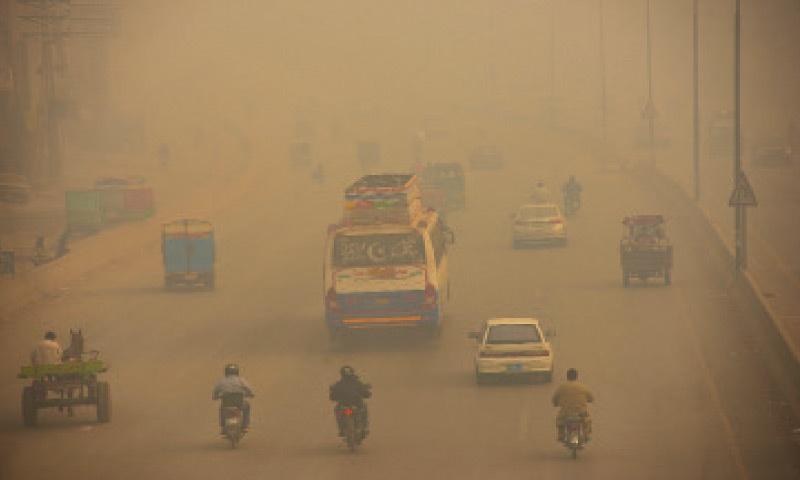 Smog blankets many parts of city on Friday. — White Star