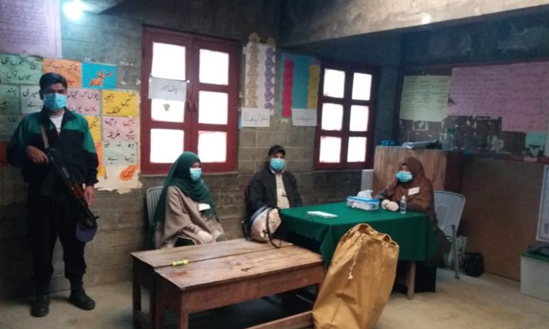 گلگت بلتستان کے اتتخابات کیلئے سیاسی جماعتوں نے بھرپور مہم چلائی—تصویر: ڈان نیوز