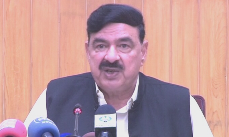 Minister for Railways Sheikh Rashid has warned the politicians of the possible terror attacks in the country sponsored by India, advising them to be careful with their security. — DawnNewsTV