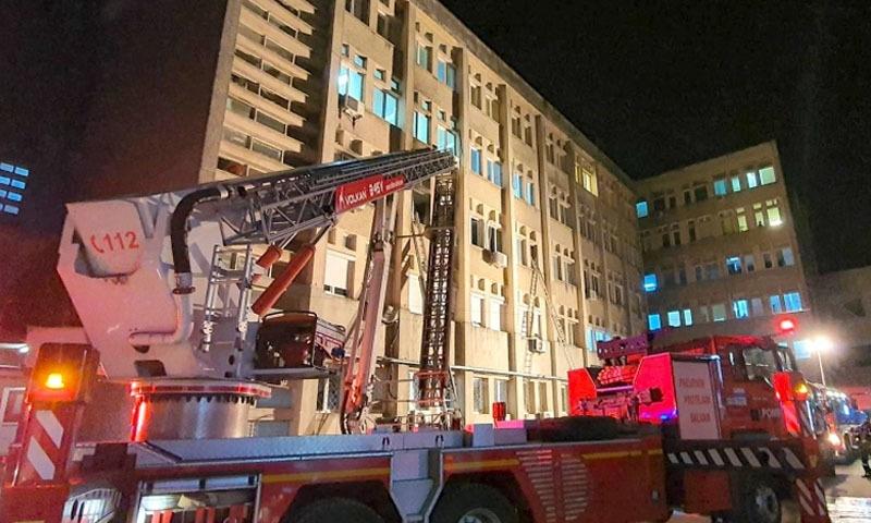 رومانیہ: کووڈ 19 سے متاثرہ مریضوں کے ہسپتال میں آتشزدگی، 10 افراد ہلاک