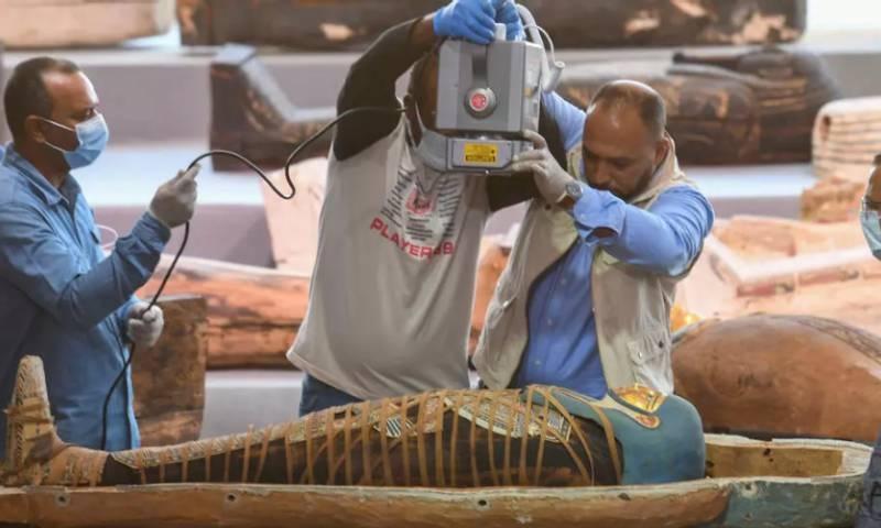 مصر میں 100 سے زائد قدیم تابوت دریافت