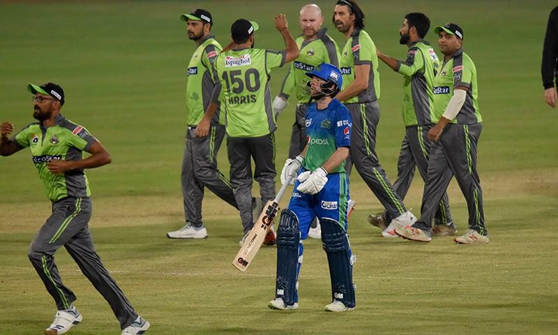 لاہور قلندرز  پی ایس ایل 2020 کے فائنل میں، سلطانز کو 25 رنز سے شکست