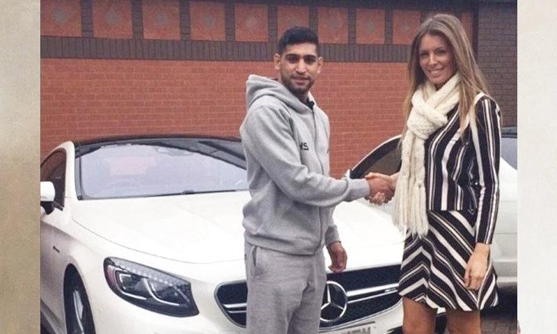 حادثے کا شکار ہونے والی باکسر کی گاڑی کی مالیت 2 کروڑ روپے تک تھی، برطانوی اخبار—فائل فوٹو: انسٹاگرام