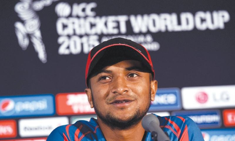 Star Bangladesh cricketer Shakib Al Hasan has been forced to make a public apology after receiving threats for attending a Hindu ceremony in neighbouring India. — AFP/File