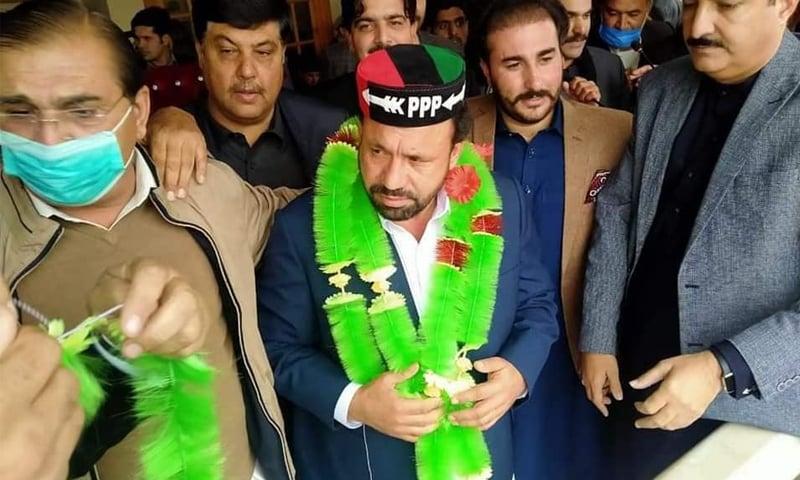 لوئر دیر: جماعت اسلامی کے سابق صوبائی وزیر کی پیپلز پارٹی میں شمولیت