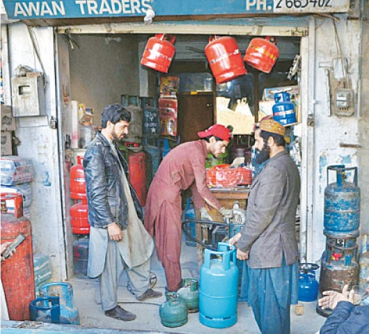 QUETTA: Demand for the fuel has risen sharply as weather turns chilly.—APP