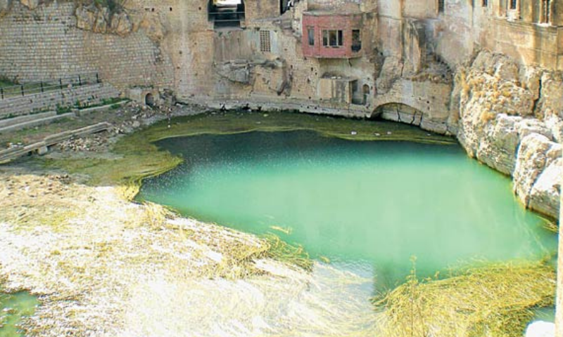 The information was given to the court during the hearing of a suo motu case about the drying up of Katas Raj pond, regarded as sacred by Hindus. — File photo