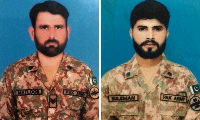 جنوبی وزیرستان: دہشتگردوں کی سیکیورٹی چیک پوسٹ پر فائرنگ، 2 جوان شہید