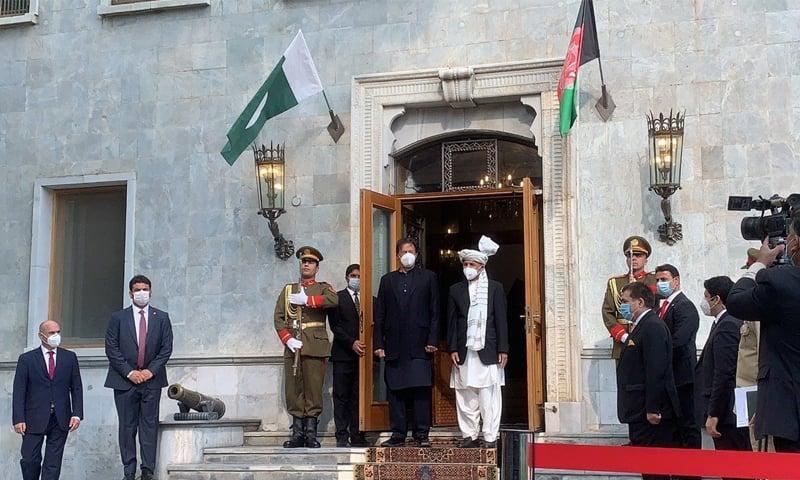 عمران خان صدارتی محل پہنچے جہاں ان کے اعزاز میں استقبالیہ تقریب منعقد کی گئی—