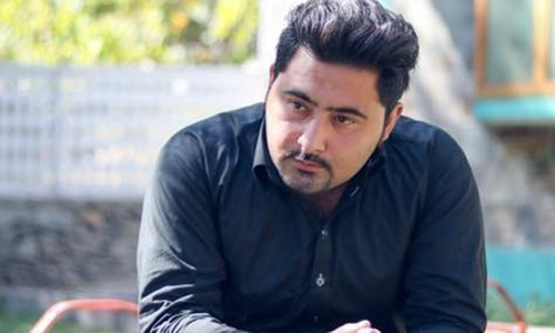 Mashal Khan. — Photo courtesy of Mashal Khan Facebook page