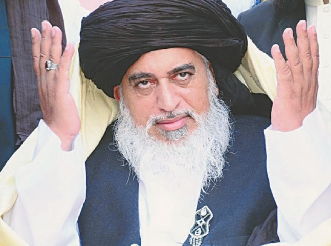 KHADIM Hussain Rizvi's TLP ended up as the fifth largest party in the 2018 general election.