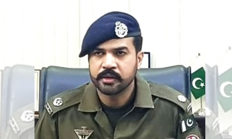 حسن افضل اپنی پہلے کی ذمہ داریوں کے دوران تنازعات کا مرکز بنے ہوئے تھے—تصویر: ٹریفک پولیس ویب سائٹ